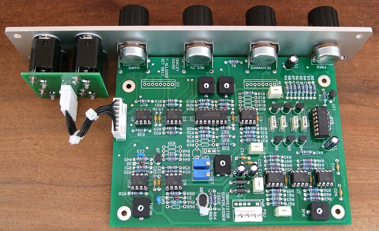 TSL - Transistor SuperLadder - A voltage controlled filter